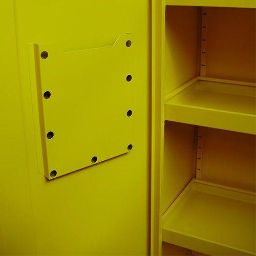 Broecan Milieukast geel