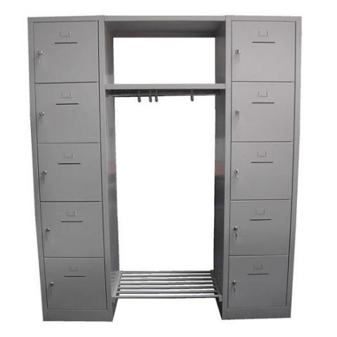 Broecan 10 deurs Locker