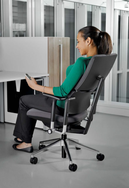 Bureaustoel Steelcase Please