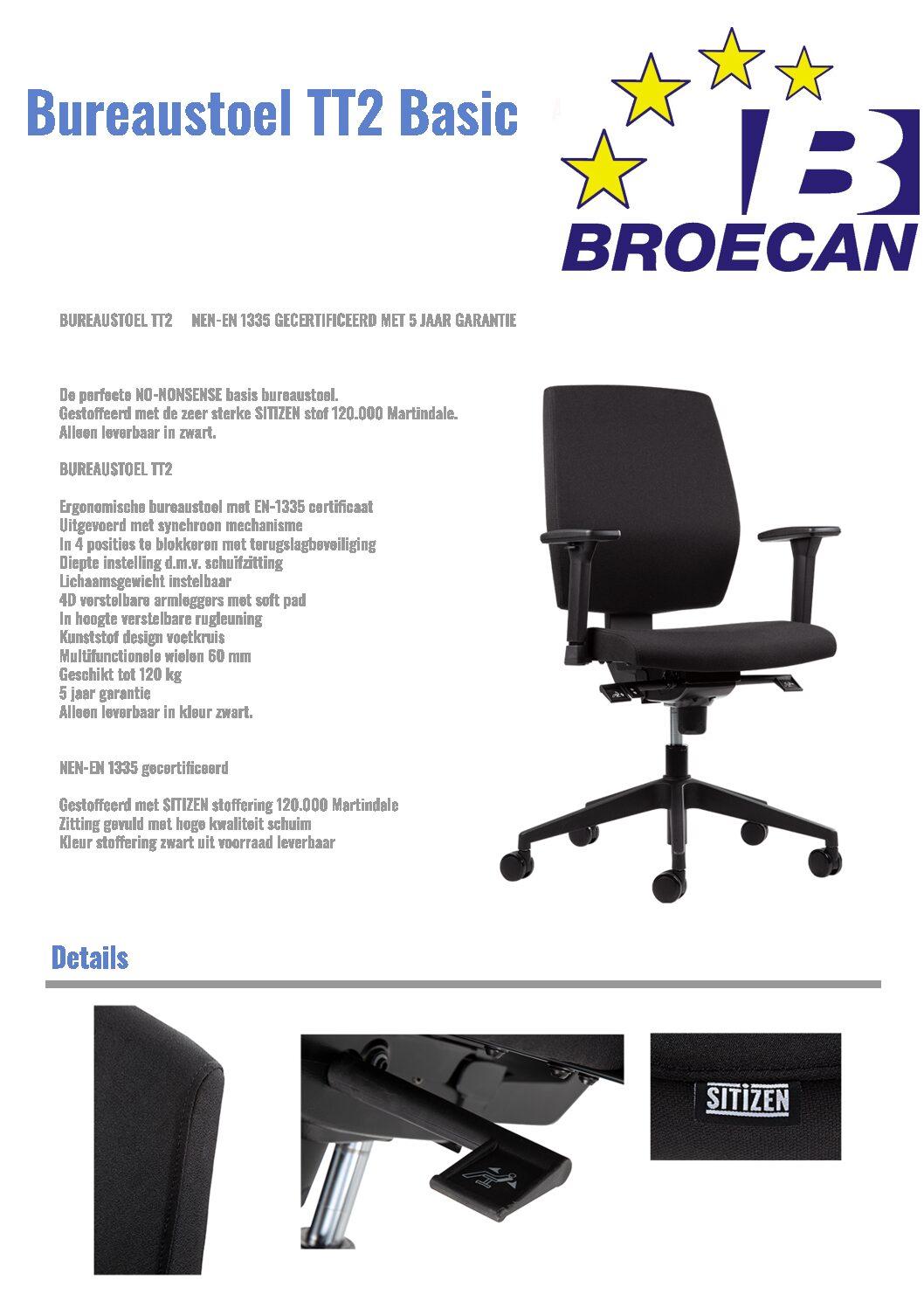 OKA Bureautafel 180×80, Q50 HV inkl. nieuwe Bureaustoel Eur 399,00 inkl.BTW